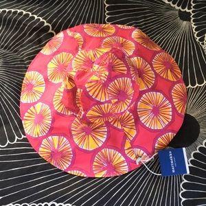 Marimekko for Target Appelsiini Sun Hat, New!